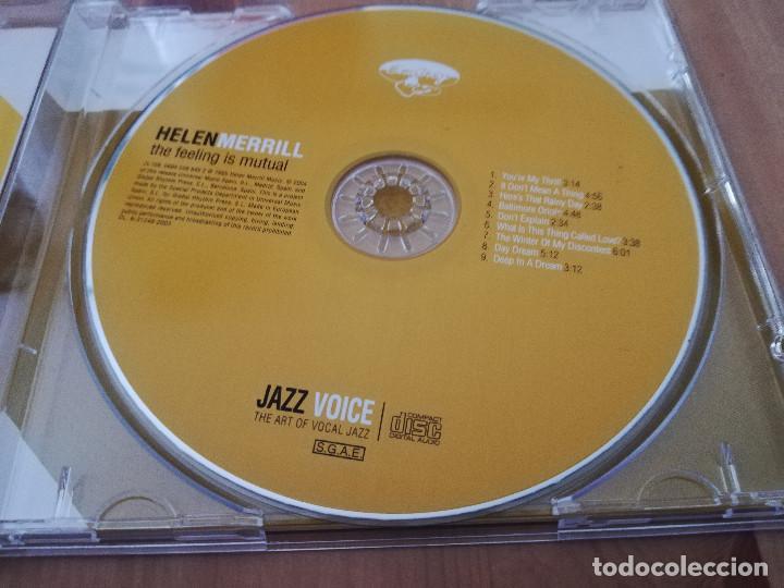 CDs de Música: HELEN MERRILL. THE FEELING IS MUTUAL (CD) - Foto 2 - 218427680