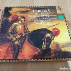 CDs de Música: CARLOS V. MILLE REGRETZ: LA CANCIÓN DEL EMPERADOR / LA CAPELLA REIAL DE CATALUNYA (CD). Lote 218427873