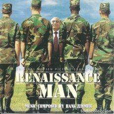 CDs de Música: RENAISSANCE MAN / HANS ZIMMER CD BSO. Lote 218445211