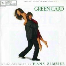 CDs de Música: GREEN CARD / HANS ZIMMER CD BSO. Lote 218445868