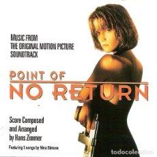 CDs de Música: POINT NO RETURN / HANS ZIMMER CD BSO. Lote 218446001