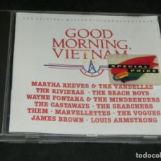 CDs de Música: CD - GOOD MORNING VIETNAM - BSO - BANDA SONORA ORIGINAL - VARIOS - 1988. Lote 218447920