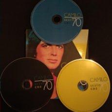 CDs de Música: SET TRIPLE CD - CAMILO SESTO 70 (VER FOTOS) - CONTIENE 60 TEMAS EN TOTAL. Lote 218456092