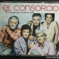 CDs de Música: SET TRIPLE CD - EL CONSORCIO (MOCEDADES) - VER FOTOS - CONTIENE 71 TEMAS EN TOTAL. Lote 218456865