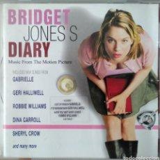CDs de Música: BRIDGET JONES'S DIARY. BANDA ORIGINAL DE LA PELÍCULA. Lote 218463635