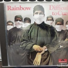 CDs de Música: RAINBOW – DIFFICULT TO CURE SELLO: POLYDOR ?– 800 018-2. Lote 218466958