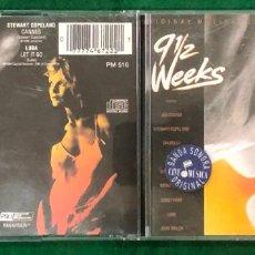 CDs de Música: 9 1/2 WEEKS - ORIGINAL MOTION PICTURE SOUNDTRACK CD DE 1986 RF-7648 , BUEN ESTADO. Lote 218470548