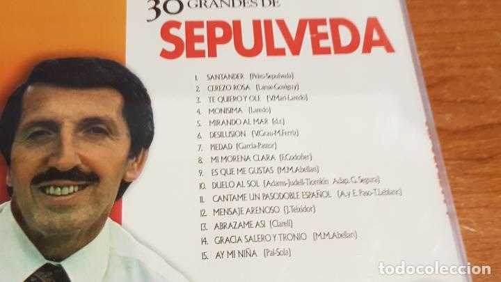CDs de Música: 30 GRANDES DE SEPULVEDA / PACK-DOBLE CD - COUPE MUSIC- / 30 TEMAS / CALIDAD LUJO. - Foto 2 - 218491811