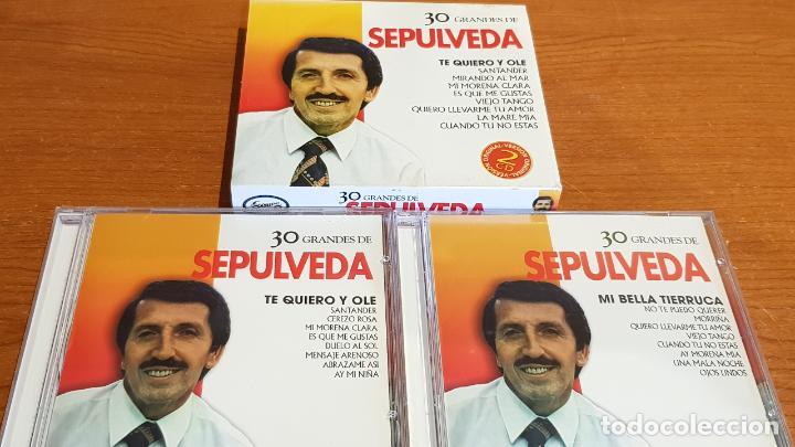 30 GRANDES DE SEPULVEDA / PACK-DOBLE CD - COUPE MUSIC- / 30 TEMAS / CALIDAD LUJO. (Música - CD's Melódica )
