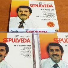 CDs de Música: 30 GRANDES DE SEPULVEDA / PACK-DOBLE CD - COUPE MUSIC- / 30 TEMAS / CALIDAD LUJO.. Lote 218491811
