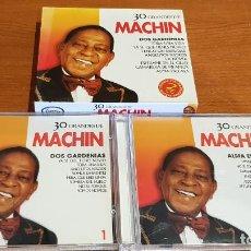 CDs de Música: 30 GRANDES DE MACHIN / PACK-DOBLE CD - COUPE MUSIC- / 30 TEMAS / CALIDAD LUJO.. Lote 218491877