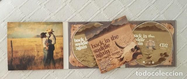 CDs de Música: BACK IN THE SADDLE AGAIN - THE COUNTRY CLASSICS - DOBLE CD - JOHNNY CASH, DOLLY PARTON... - Foto 2 - 218492648