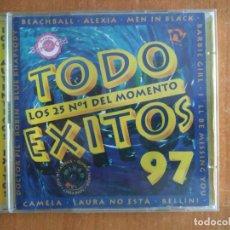 CDs de Música: TODO EXITOS 97. LOS 25 Nº 1 DEL MOMENTO. 2CDS. ALEXIA. CAMELA. ANNA DANCE. SASH!. NOMAD. AÑO 1997.. Lote 218504905