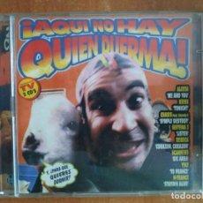 CDs de Música: ¡AQUI NO HAY QUIEN DUERMA!. 2 CDS. SISTEMA 3. KRISS. YOLY. N-TRANCE. REBECA. ALEXIA. AÑO 1996.. Lote 218505361