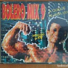 CDs de Música: BOLERO MIX 9. QUIQUE TEJADA MIX. 2CDS. SNAP. DOUBLE YOU. SONIA DAVIS. PLEXUS. BABYROOTS. AÑO 1992.. Lote 218505566
