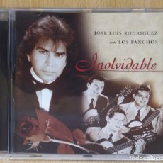 CDs de Música: JOSE LUIS RODRIGUEZ CON LOS PANCHOS (INOLVIDABLE) CD 1997 - EL PUMA. Lote 218511613