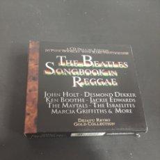CD di Musica: CD 2834 THE BEATLES SONGBOOK IN REGGAE-CD SEGUNDA MANO. Lote 218514141