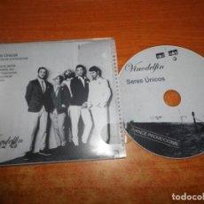 CDs de Música: VINODELFIN SERES UNICOS CD MAXI SINGLE PROMO ESPAÑA CONTIENE 5 TEMAS RARO. Lote 218534213