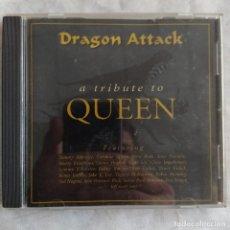 CDs de Música: DRAGON ATTACK (A TRIBUTE TO QUEEN) (CD) (DEROCK RECORDS) DERCD-091 (D:NM). Lote 218535887