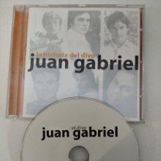 CDs de Música: JUAN GABRIEL LA HISTORIA DEL DIVO CD. Lote 218537470