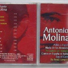 CDs de Música: ANTONIO MOLINA. CD'S.. Lote 218537618