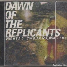 CDs de Música: DAWN OF THE REPLICANTS - ONE HEAD, TWO ARMS, TWO LEGS / CD ALBUM 1997 / MUY BUEN ESTADO RF-7662. Lote 218540915