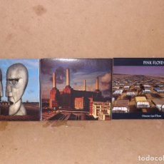 CDs de Música: LOTE 3 CD´S PINK FLOYD - ANIMALS - DIVISION BELL - A MOMENTARY DIGIPACK. Lote 218541168