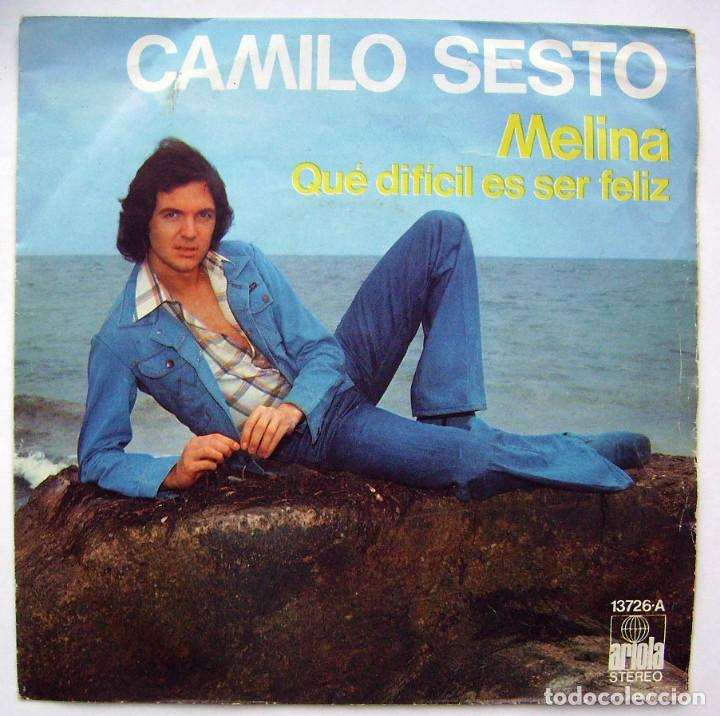 CDs de Música: CAMILO SESTO. MELINA. SINGLE. - Foto 1 - 218544670