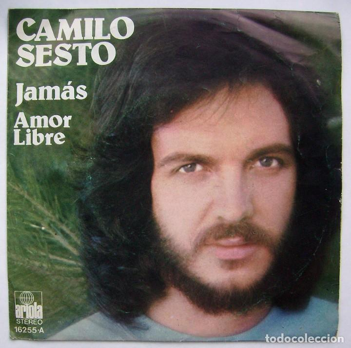CDs de Música: CAMILO SESTO. JAMÁS. SINGLE. - Foto 1 - 218544935