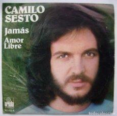 CDs de Música: CAMILO SESTO. JAMÁS. SINGLE.. Lote 218544935