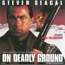 CDs de Música: ON DEADLY GROUND / BASIL POLEDOURIS CD BSO. Lote 218546971