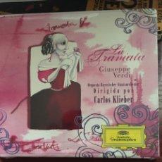 CDs de Música: LA TRAVIATA-VERDI-BAYERISCHER CARLOS KLIEBER PLACIDO DOMINGO-2008-PRECINTADO NUEVO. Lote 218560796