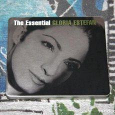 CDs de Música: GLORIA ESTEFAN - THE ESSENTIAL - CAJA METÁLICA - 88697536822 - EPIC / SONY MUSIC - 2 CD'S. Lote 123161611