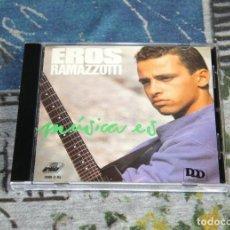 CDs de Música: EROS RAMAZZOTTI - MÚSICA ES - 3080-2-RL - ARIOLA / BMG - CD. Lote 166398206