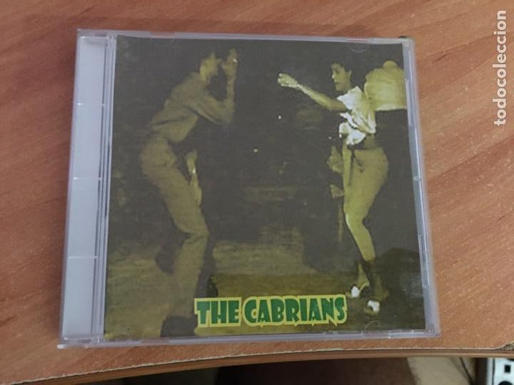 THE CABRIANS CD 4 CANCIONES (CDIB11) (Música - CD's Reggae)