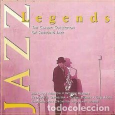 CDs de Música: JAZZ LEGENDS (THE CLASSIC COLLECTION OF SWINGING JAZZ). Lote 218625441