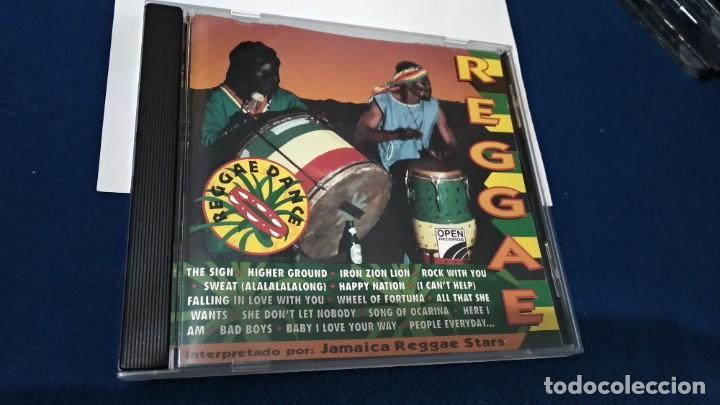 CD ( REGGAE - REGGAE DANCE - INTERPRETADO POR JAMAICA REGGAE STARS ) 1994 OPEN (Música - CD's Reggae)