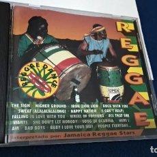 CDs de Música: CD ( REGGAE - REGGAE DANCE - INTERPRETADO POR JAMAICA REGGAE STARS ) 1994 OPEN. Lote 218625450