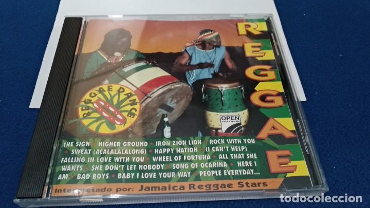 CDs de Música: CD ( REGGAE - REGGAE DANCE - INTERPRETADO POR JAMAICA REGGAE STARS ) 1994 OPEN - Foto 2 - 218625450