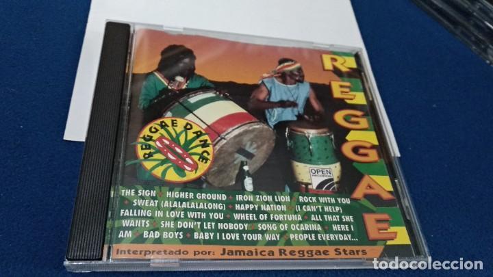 CDs de Música: CD ( REGGAE - REGGAE DANCE - INTERPRETADO POR JAMAICA REGGAE STARS ) 1994 OPEN - Foto 3 - 218625450