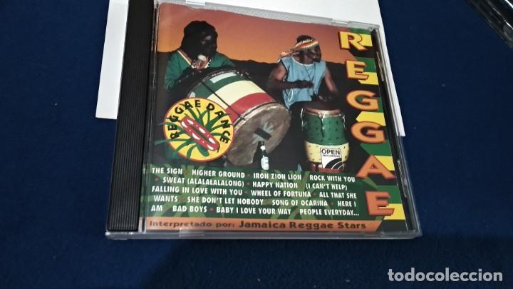 CDs de Música: CD ( REGGAE - REGGAE DANCE - INTERPRETADO POR JAMAICA REGGAE STARS ) 1994 OPEN - Foto 4 - 218625450