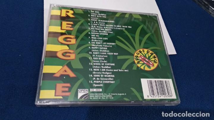 CDs de Música: CD ( REGGAE - REGGAE DANCE - INTERPRETADO POR JAMAICA REGGAE STARS ) 1994 OPEN - Foto 6 - 218625450
