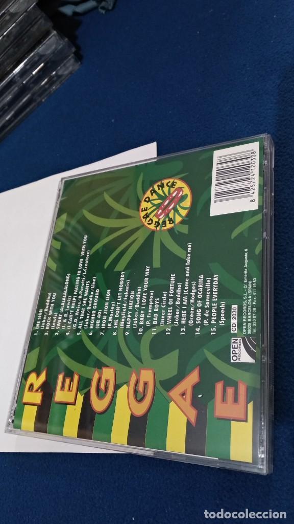 CDs de Música: CD ( REGGAE - REGGAE DANCE - INTERPRETADO POR JAMAICA REGGAE STARS ) 1994 OPEN - Foto 7 - 218625450