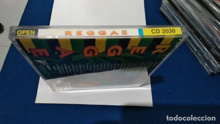CDs de Música: CD ( REGGAE - REGGAE DANCE - INTERPRETADO POR JAMAICA REGGAE STARS ) 1994 OPEN - Foto 9 - 218625450