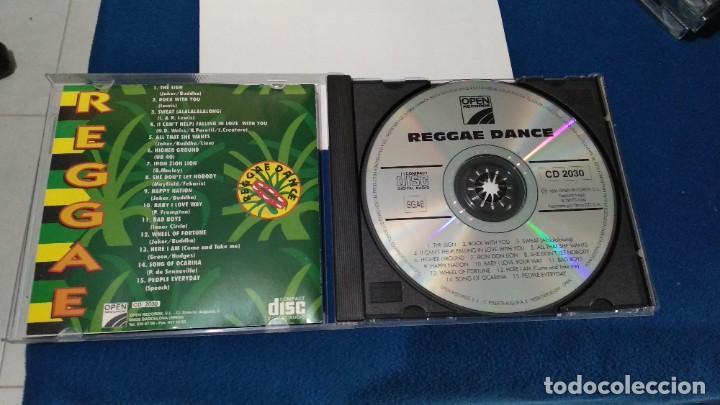 CDs de Música: CD ( REGGAE - REGGAE DANCE - INTERPRETADO POR JAMAICA REGGAE STARS ) 1994 OPEN - Foto 10 - 218625450