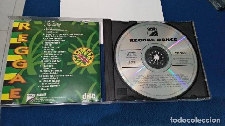 CDs de Música: CD ( REGGAE - REGGAE DANCE - INTERPRETADO POR JAMAICA REGGAE STARS ) 1994 OPEN - Foto 11 - 218625450