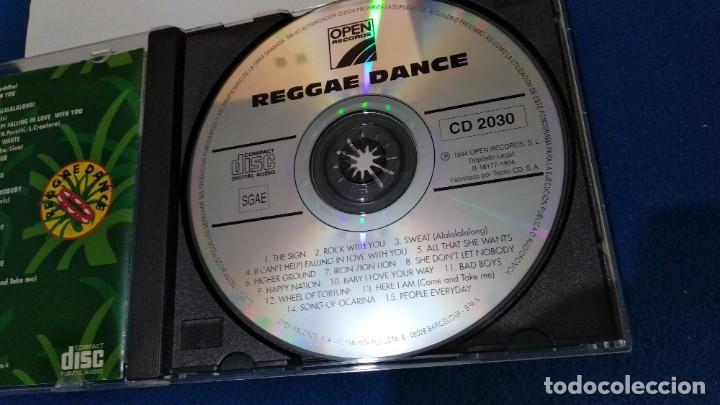 CDs de Música: CD ( REGGAE - REGGAE DANCE - INTERPRETADO POR JAMAICA REGGAE STARS ) 1994 OPEN - Foto 12 - 218625450