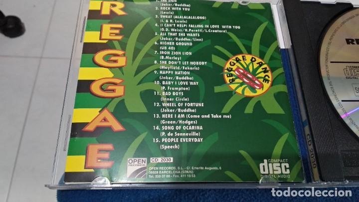 CDs de Música: CD ( REGGAE - REGGAE DANCE - INTERPRETADO POR JAMAICA REGGAE STARS ) 1994 OPEN - Foto 13 - 218625450