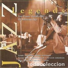CDs de Música: JAZZ LEGENDS (THE CLASSIC COLLECTION OF SWINGING JAZZ). Lote 218627831