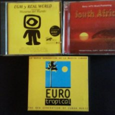 CDs de Música: 10 CD'S DE MÚSICAS DEL MUNDO. Lote 218629911